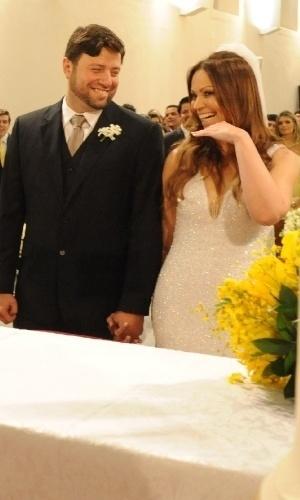 Casamento de Solange Almeida, do grupo