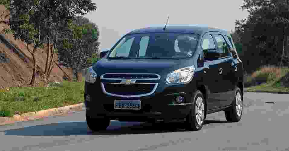 Chevrolet Spin LT é a versão de entrada da minivan e custa R$ 44.590 - Murilo Góes/UOL