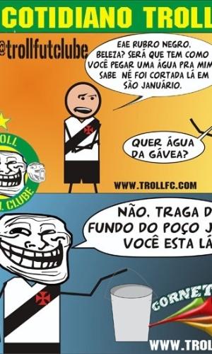 Corneta FC: Vasco pede ajuda ao Flamengo para resolver problema de falta de água