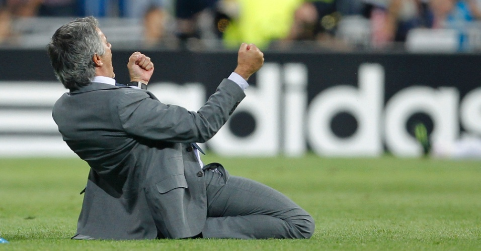 Ex-dirigente xingou Mourinho depois que ele comemorou o gol da virada sobre o City