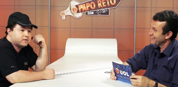 """Humorista Alexandre Porpetone é convidado do programa """"Papo Reto com Neto"""""""