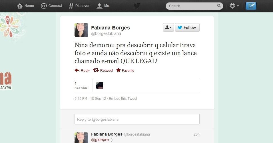 No Twitter, vários ''noveleiros'' de plantão reclamaram da falta de ''jogo de cintura tecnológico'' de Nina em ''Avenida Brasil''