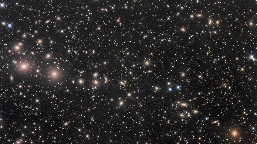 Fotógrafo Robert Franke, dos Estados Unidos, capturou a constelação de Perseu, a quase 250 milhões de anos-luz da Terra - Robert Franke
