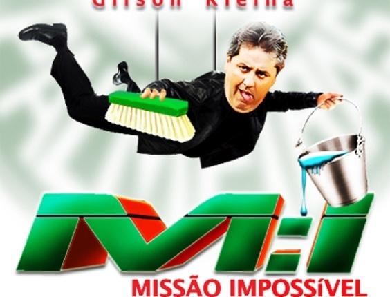 Corneta FC: Gilson Kleina estrela: Missão Impossível. Só nos melhores cinemas