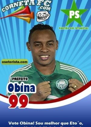 Corneta FC: Obina se candidata: melhor que Eto'o e todos os outros candidatos!