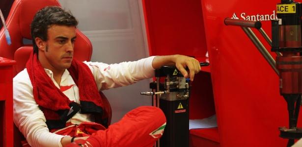 Alonso prevê dificuldades para a Ferrari nas últimas provas da temporada