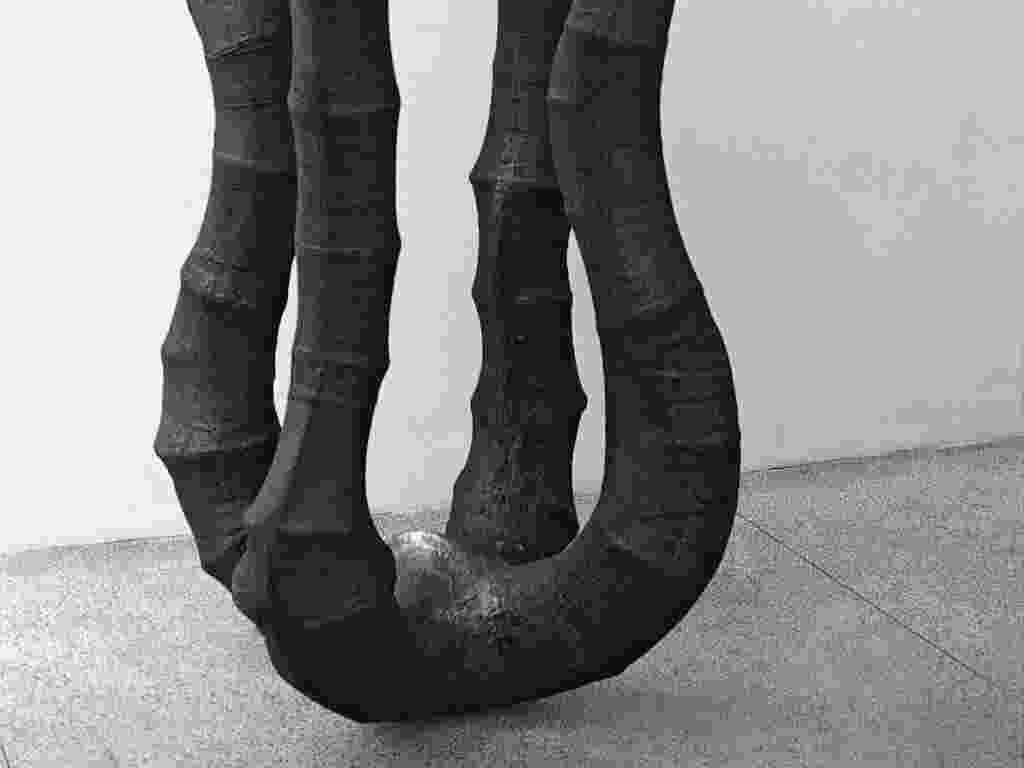 Obra da retrospectiva do MAM carioca dedicada a Angelo Venosa, que mostra esculturas dos 30 anos de carreira do artista paulistano radicado no Rio de Janeiro - Divulgação