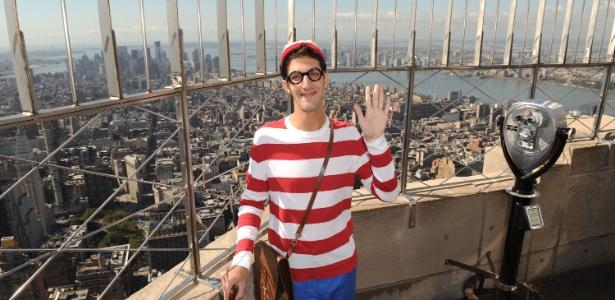Wally no Empire State Building, em Nova York - Craig Barritt/Getty Images