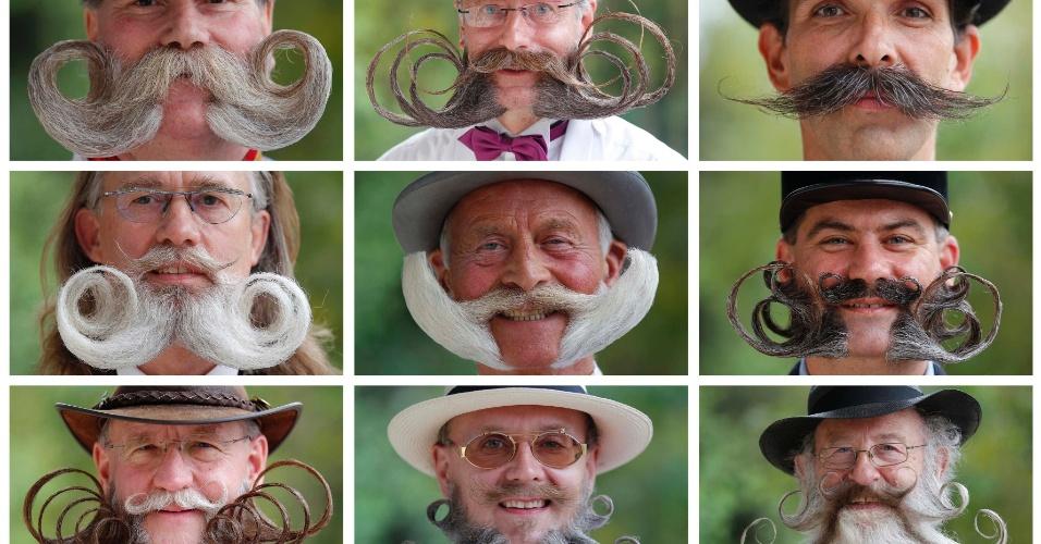 Concurso europeu irá eleger a melhor barba e bigode, neste sábado (22), na França. A premiação conta com mais de cem participantes