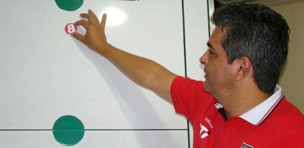 Ney Franco posiciona Ganso no rascunho do São Paulo que ele pode montar daqui em diante