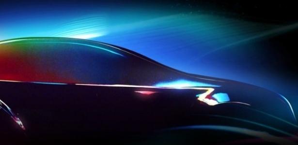 Acima, imagem oficial do Salão de Paris 2012: futuro do automóvel é tema - Reprodução