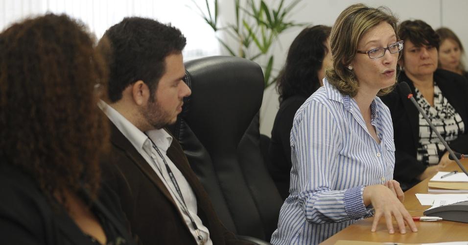 24.set.2012 - A ministra da Secretaria de Direitos Humanos, Maria do Rosário, abre a 25ª reunião do Comitê Nacional de Prevenção e Combate à Tortura, em Brasília