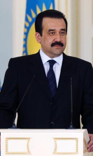 24.set.2012 - O primeiro-ministro do Cazaquistão, Karim Masimov, em imagem de 28 de maio de 2010. Nesta segunda-feira (24), segundo a agência Reuters, Masimov renunciou ao cargo, depois de quase 6 anos à frente da maio economia da Ásia