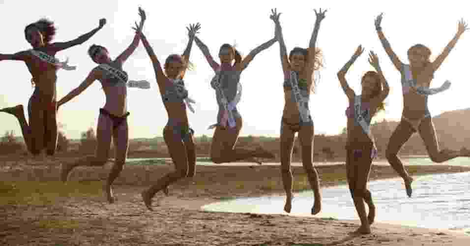 Bastidores do Miss Brasil 2012, álbum de Tabloide - Divulgação