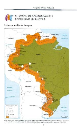 Em 2009, livros de geografia distribuídos pela Secretaria da Educação do Estado de São Paulo traziam duas vezes o Paraguai no mapa da América do Sul, invertiam a localização do Uruguai e do Paraguai e omitiam o Equador. Os erros ganharam destaque na imprensa da América do Sul