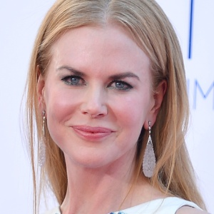 A atriz Nicole Kidman no Emmy Awards