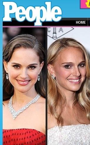 Natalie Portman muda a cor do cabelo para loiro (23/9/12)