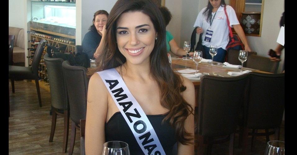 Vivian Amorim, miss Amazonas e violinista