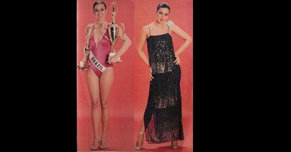 1979 - Revista traz fotos da Miss Rio Grande do Norte, Marta da Costa, coroada Miss Brasil 1979. A potiguar ficou em quarto lugar no Miss Universo