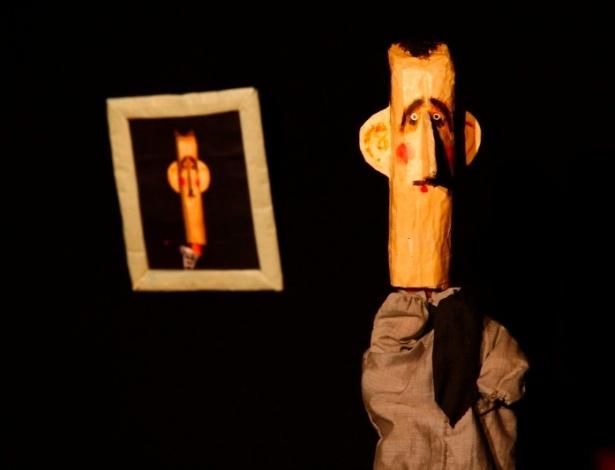 A versão em fantoche do presidente da Síria, Bashar al-Assad