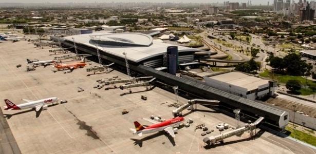 Aeroporto de Recife só tem uma obra prevista para a Copa do Mundo: construção da torre