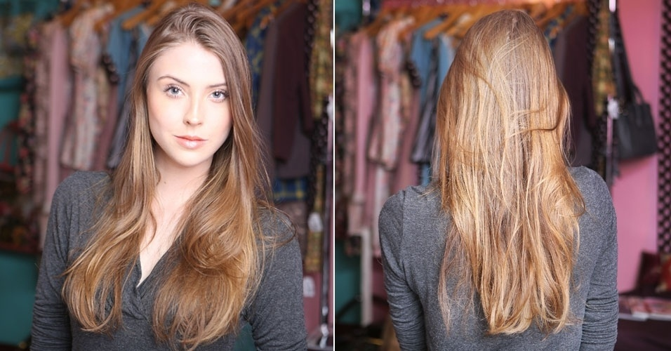 cabelo rolinho - antes