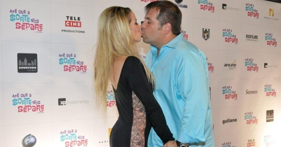 Danielle Winits e Leandro Hassum, protagonistas de