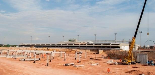 Reforma do aeroporto de Manaus já atingiu 28,4% de seu cronograma de execução