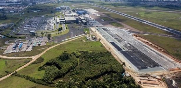 Reformas no Aeroporto de Curitiba devem estar pronta em dezembro do ano que vem