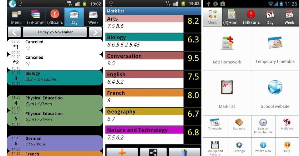 Se sua vida na escola ou faculdade anda meio bagunçada, saiba que é possível organizá-la com aplicativos para smartphone ou tablets.