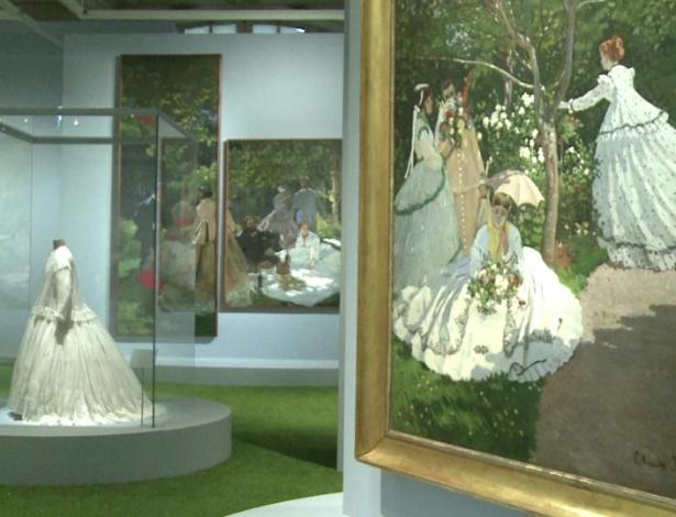 Exposição une impressionismo e moda em Paris (26/9/12) - BBC