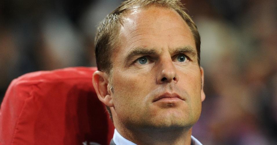 Frank de Boer sempre arrancou suspiros em campo e agora é o queridinho da torcida no comando do Ajax, da Holanda