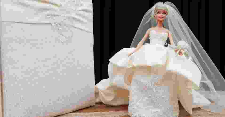 Imagem da Barbie noiva de Patrícia Vergara - Alexandre Macedo/Divulgação