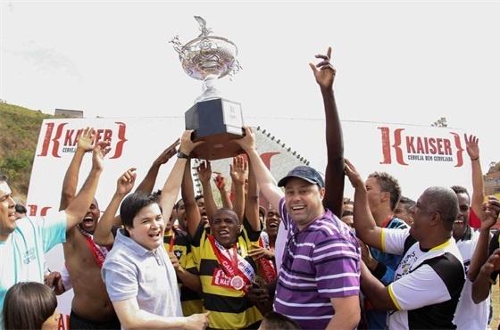 Inconfidência venceu o Roma na final e foi tricampeão da Copa Kaiser 2012 de Belo Horizonte