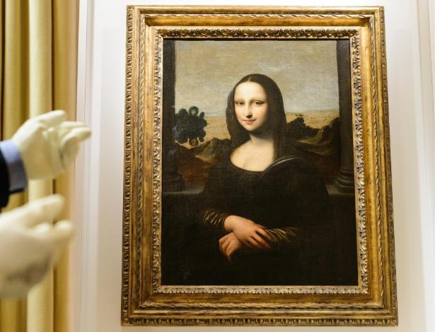 """Pintura atribuída a Leonardo da Vinci que seria uma versão """"mais nova"""" de Mona Lisa (26/9/12) - Reuters"""