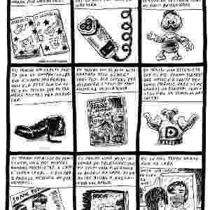 Quadrinho do cartunista Adão Iturrusgarai mostra as coisas que ele têm na vida - Divulgação