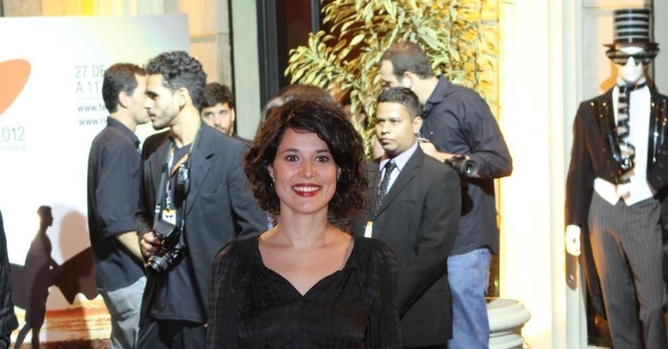 """A atriz Manoela do Monte prestigiou a première do filme """"Gonzaga - De Pai para Filho"""" que abriu o Festival do Rio nesta quinta, no Cine Odeon, centro da cidade (27/9/12)"""