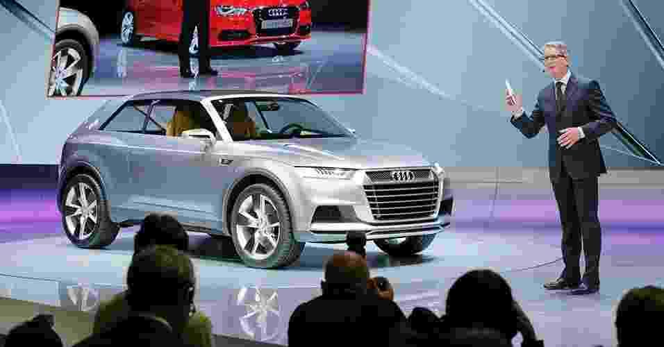Audi Q2 Concept - Christian Hartmann/Reuters