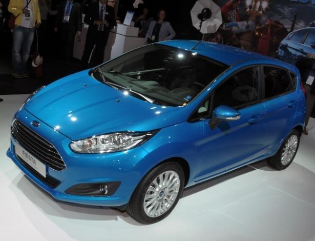 Ford New Fiesta na versão Titanium e com motor Ecoboost 1.0: essa é a nova cara dele - Murilo Góes/UOL