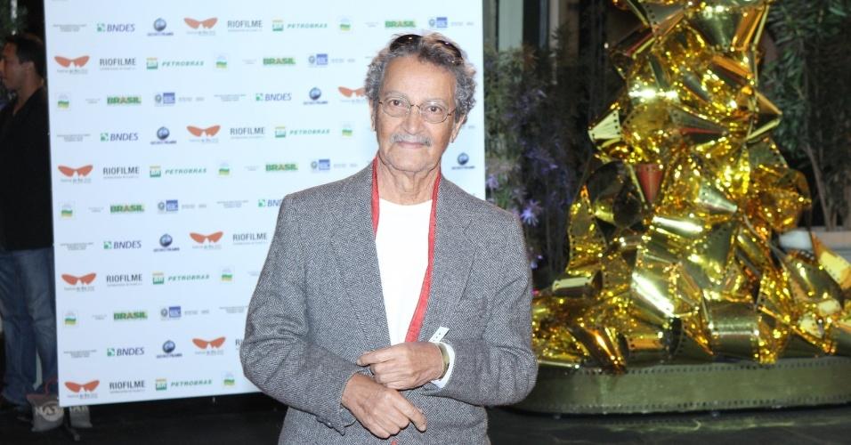 """O ator Nelson Xavier prestigiou a première do filme """"Gonzaga - De Pai para Filho"""" que abriu o Festival do Rio nesta quinta, no Cine Odeon, centro da cidade (27/9/12)"""
