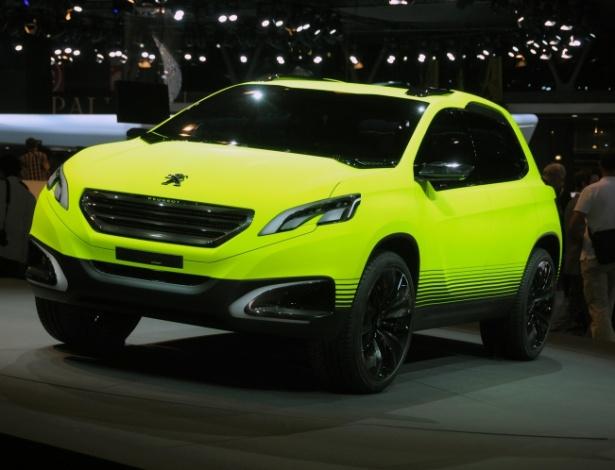 Peugeot 2008 Concept, conforme exposto no Salão de Paris: espere até ele amadurecer! - Murilo Góes/UOL