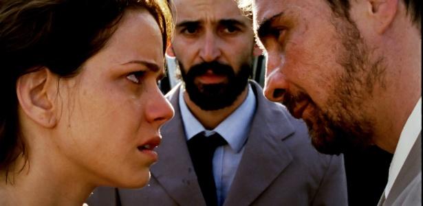 Leandra Leal e João Miguel atuam juntos no filme Éden