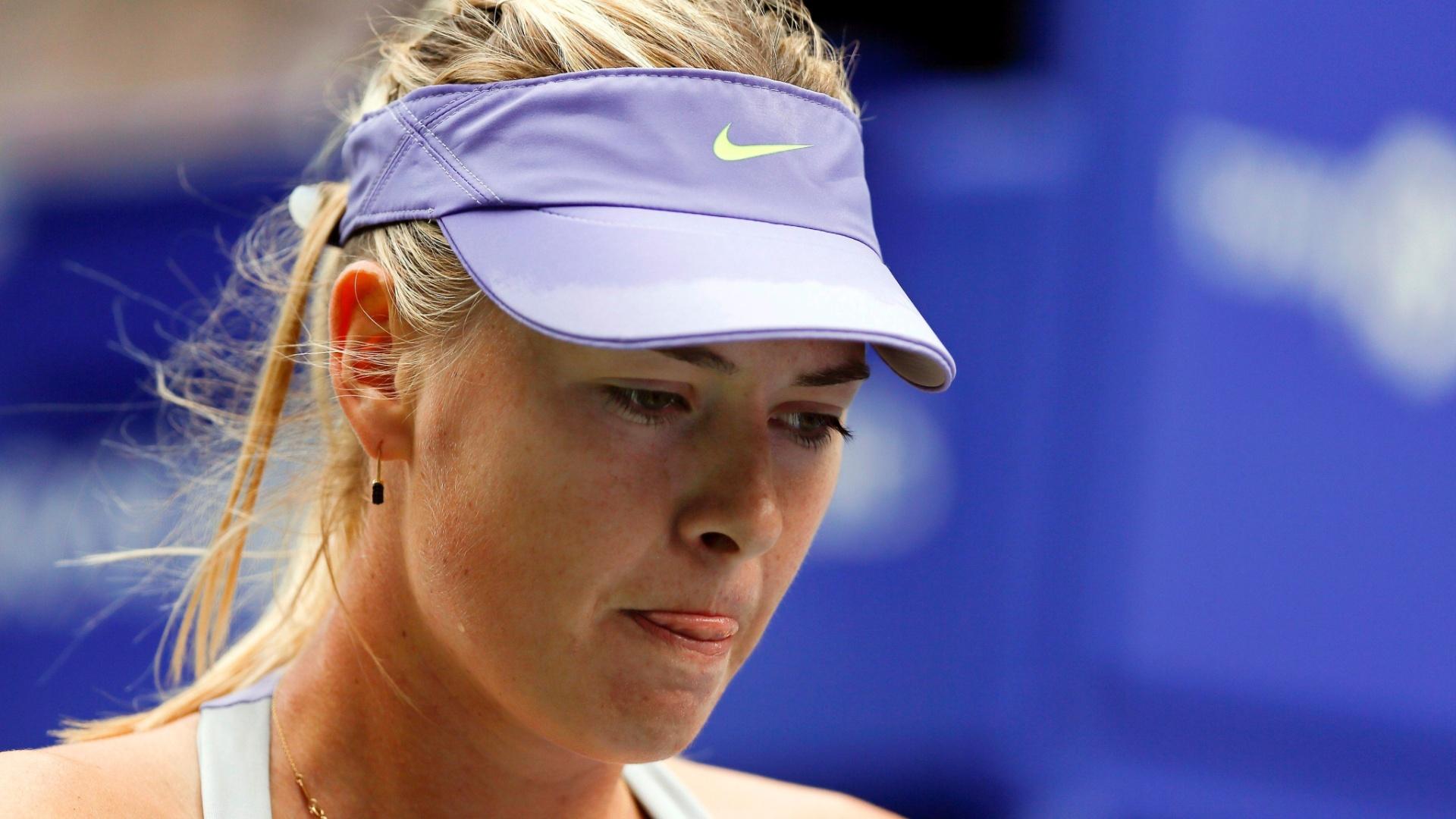 Sharapova foi eliminada nas quartas de final do WTA de Tóquio