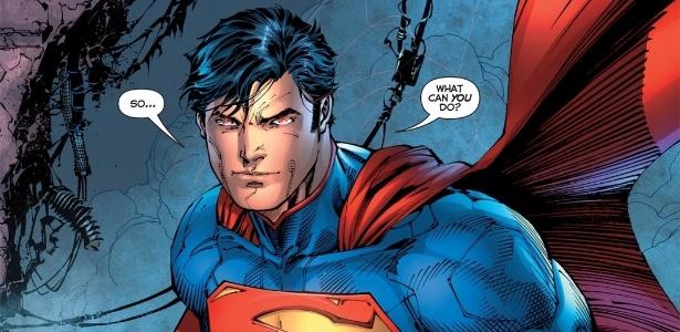O personagem da DC Comics, Super-Homem - Divulgação