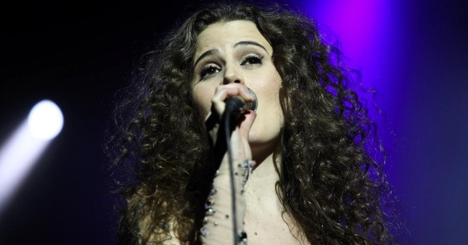 """Ana Cañas participou do show """"Mulheres do Brasil"""", em São Paulo (27/9/12)"""