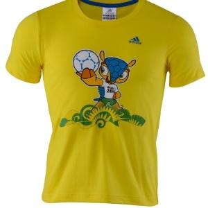 Camisa com imagem do mascote faz parte da linha de roupas comercializada pela Adidas