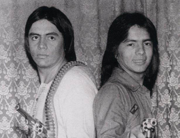 Chitãozinho e Xororó na década de 1970
