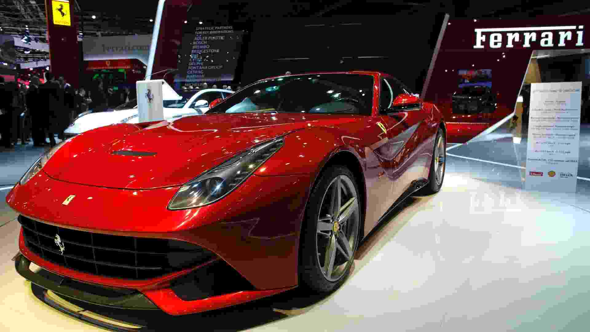 Ferrari F12 Berlinetta - Christian Hartmann/Reuters