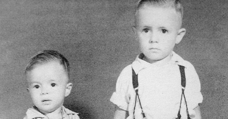 Foto de Durval e José do final da década de 1950