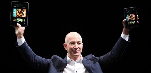 Jeff Bezos é o homem mais rico do mundo - David McNew/Getty Images/AFP